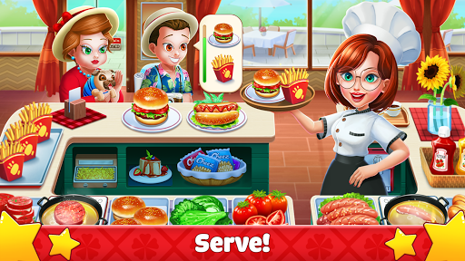 Crazy Cooking: Craze Fast Restaurant Cooking Games  captures d'écran 2