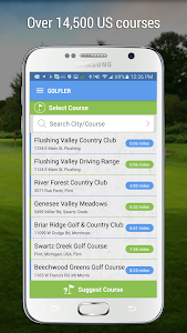 GOLFLER Rangefinder & Golf GPS screenshot 1