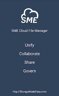 SME Cloud File Manager- screenshot thumbnail