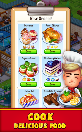 Food Street - Restaurant Management & Food Game  screenshots 8