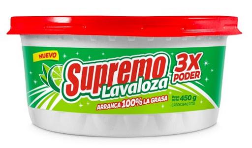 lavaplato crema supremo limon 450gr