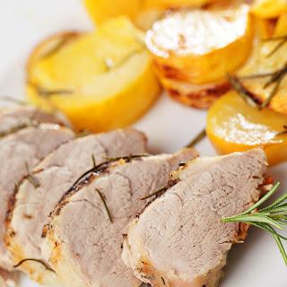 Roasted Pork Tenderloin and Garlic