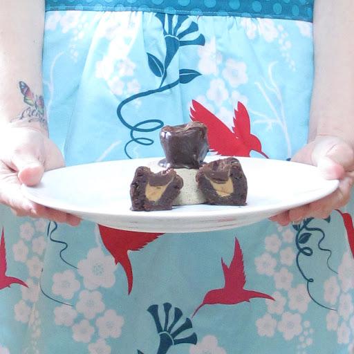 Peanut Butter Bliss Brownie Truffles- 6 pk