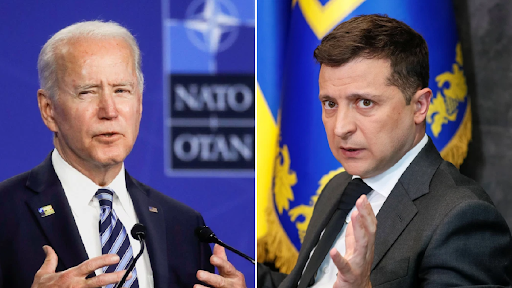 Joe Biden says Ukraine must 'clean up corruption' after Zelenskiy tweets about NATO entry