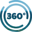 Our 360 - exploring the changing world around you icon