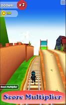 Subway Nano Ninja Surfer - screenshot thumbnail 01