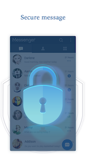 Privacy Messenger Pro - SMS & default phone app Screenshot