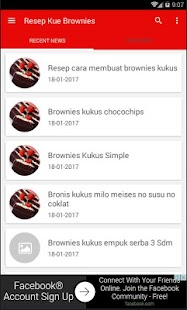 Resep Kue Brownies Kukus- screenshot thumbnail
