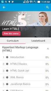Learn HTML5 by GoLearningBus- screenshot thumbnail