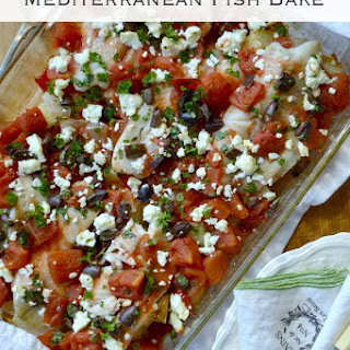 Mediterranean Fish Bake.