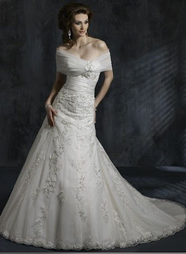 Elegant Wedding Gown, Bridal Dress
