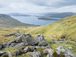 Photo: Loch Na Keel from above Dhiseig,  Ben More, Mull