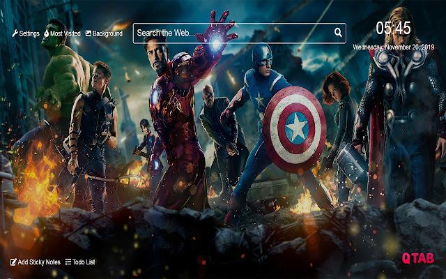 Avengers Wallpapers Avengers New Tab HD
