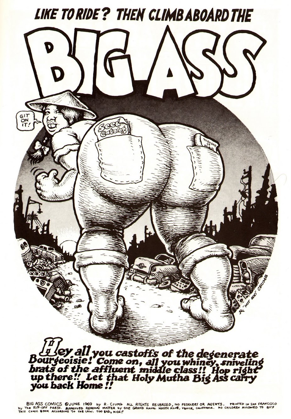 R. Crumb Comic Art