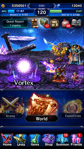 FINAL FANTASY  BRAVE EXVIUS - screenshot
