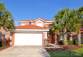 Orlando villa, gated community, close to Disney theme parks, west-facing private pool, games room