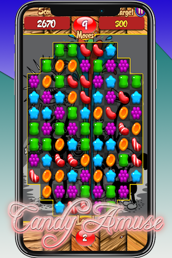 Candy Amuse - Match 3 Game android2mod screenshots 2
