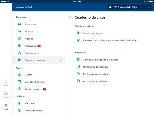 Versión de Séneca para smartphone y tabletas. screenshot 10