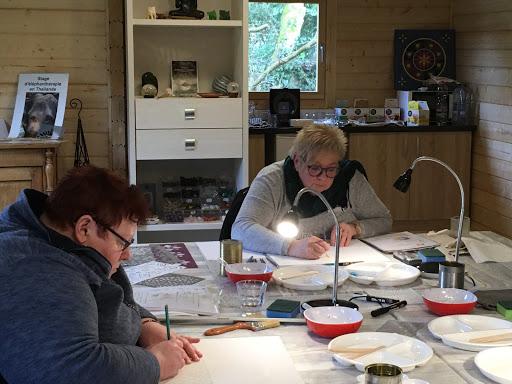 Atelier mandala intuitif Chantal Vereyen