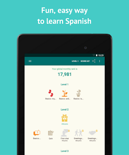 Learn Spanish with SpeakTribe- screenshot thumbnail