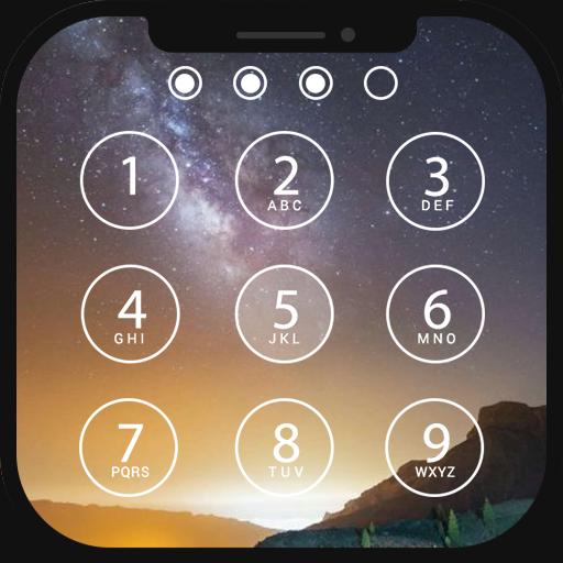 Lock screen IOS - Fingerprint support Icon