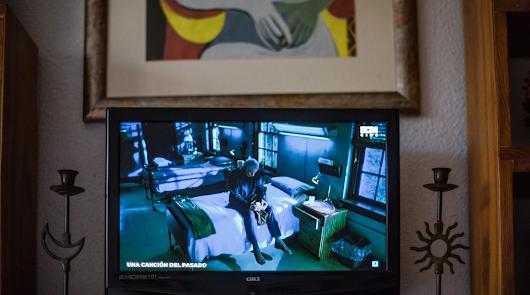Imagen de la serie El mundo visto desde casa, realizada por el fotógrafo almeriense durante el confinamiento.