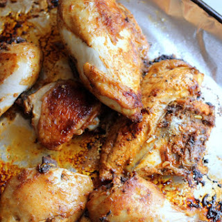 Smoked Paprika, Lemon, and Thyme Marinated Chicken