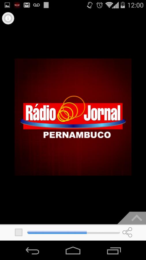 Rádio Jornal AM - Recife, Pern- screenshot
