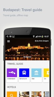 Budapest: Offline travel guide - náhled