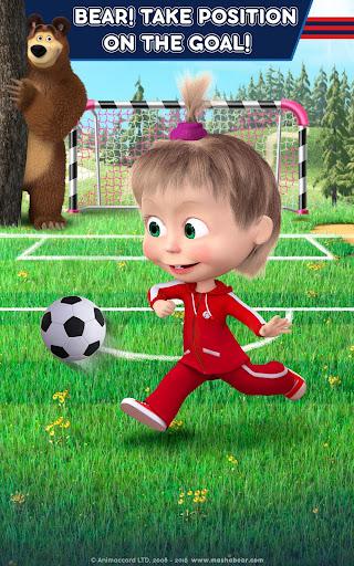 Masha and the Bear: Football Games for kids 1.3.7 screenshots 16