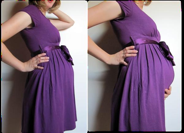 ich liebe dieses kleid u meinen bauch violett. Black Bedroom Furniture Sets. Home Design Ideas