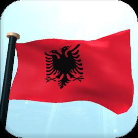 Албания Флаг 3D Бесплатных