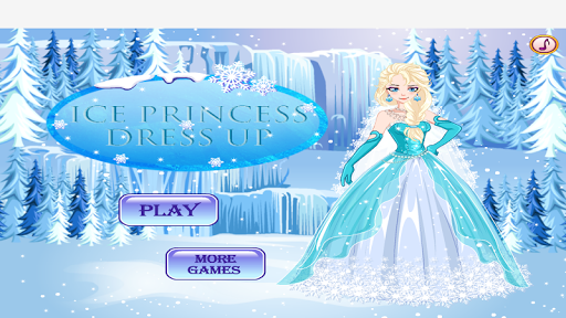 Ice Princess Wedding Dress Up