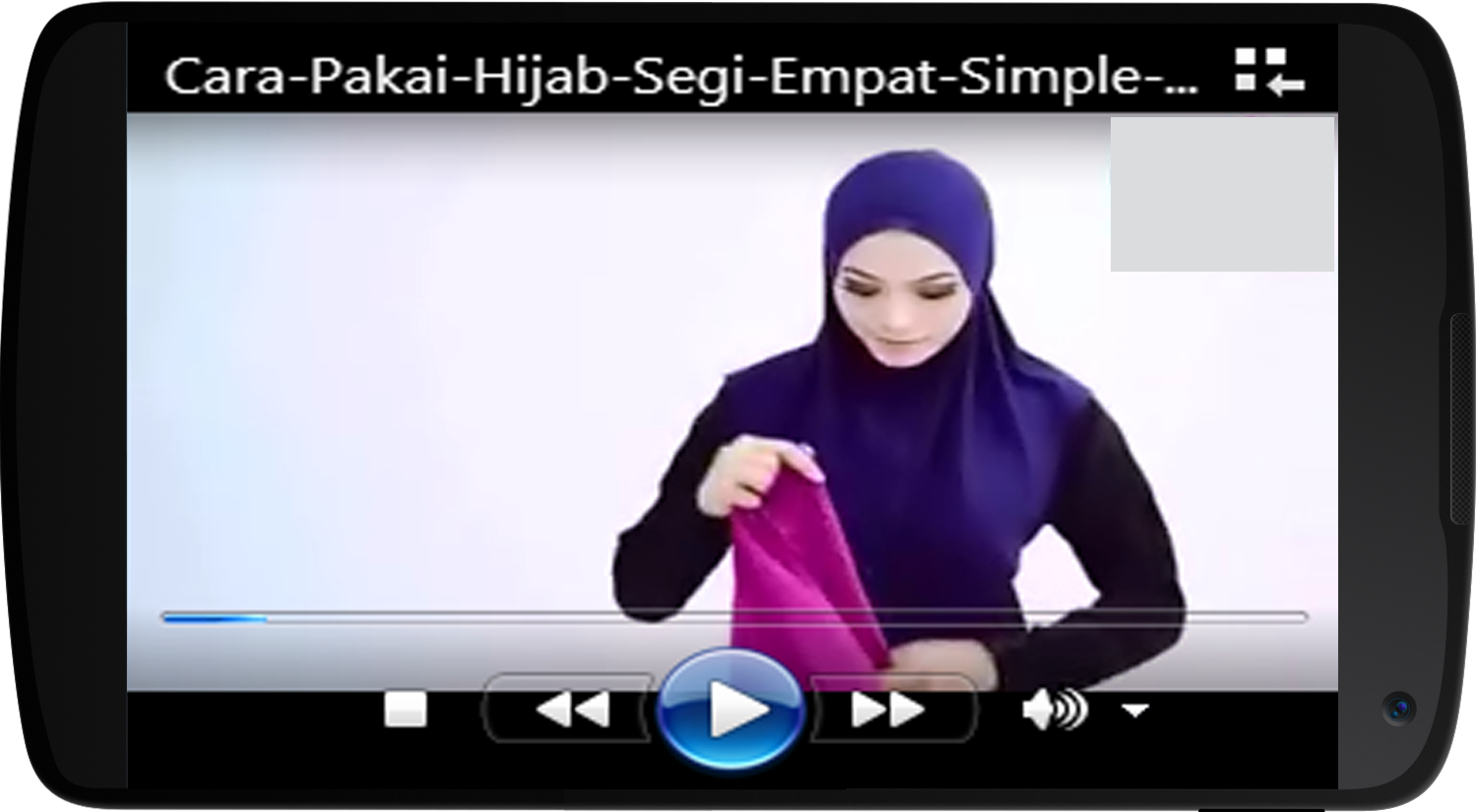 Video Tutorial Hijab 2017 Android Apps On Google Play