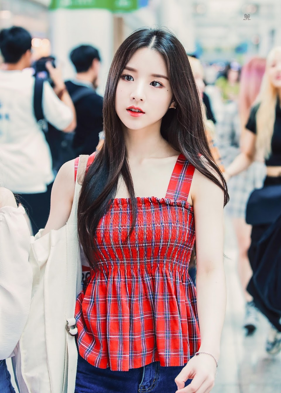 heejin plaid 20
