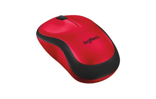 Chuột máy tính Logitech M221 không dây (Đỏ)-2