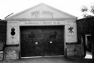 Photo: 1878-Buckingham Mills commences operations. In 1920, it was amalgamated with Carnatic Mills. Binny's eventually became the owners.