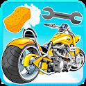 Motorbike Wash and Repair icon
