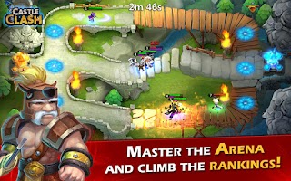 Screenshot of Castle Clash: Age of Legends
