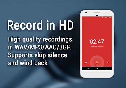 RecAnything Audiorecorder - náhled
