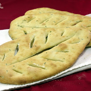 Fougasse (Provençal Flat Bread).