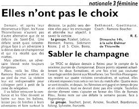 Photo: 06-03-2011 Victoire indispensable contre Saint-Dié à Dalmar