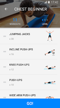 Home Workout - No Equipment APK screenshot thumbnail 6