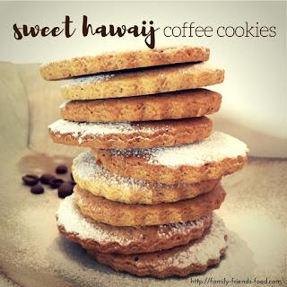 Hawaij Coffee Cookies.