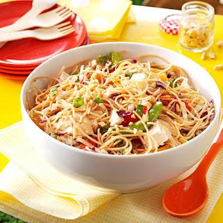 Sesame Chicken Noodle Salad.