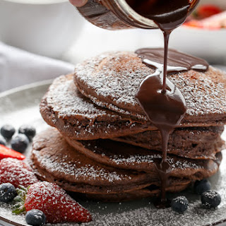 Chocolate Pancakes Without Eggs Recipes