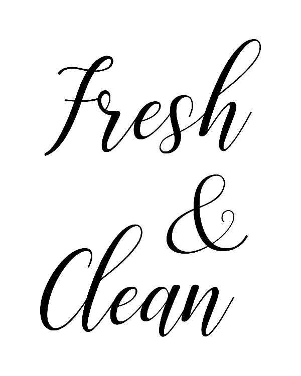 Download this free printable laundry room sign
