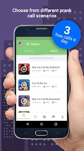 PrankDial - Prank Call App- screenshot thumbnail
