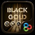 Black Gold GO Launcher Theme icon