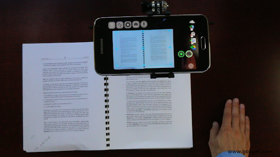 SkanApp hands-free PDF scanner Screenshot